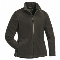 3195-fleece-jacket-retriever-ladies---olive-suede-brown
