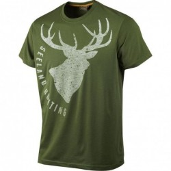 heren-t-shirt-korte-mouwen-seeland-fading-stag-groen-z-1637-163703