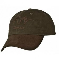cappello-blaser-a-verde-con-visiera-marrone